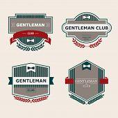 Gentleman club Labels