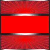 Background Vector-Black & Red with Silver