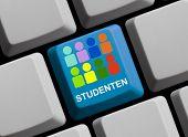 Computer Keyboard students