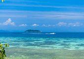 Exotic Getaway Sea Scene