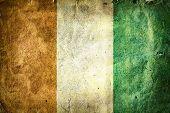 pic of yamoussoukro  - flag of Ivory Coast - JPG
