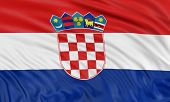 3D Croatian flag