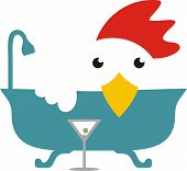 Cooking Chicken Bathtub Martini Brine