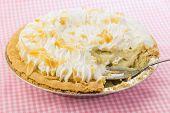 Serving Banana Cream Pie