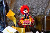 Craft doll, typical of Peru, Cuzco