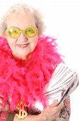 Grandmother who won lotto