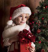 child - Santa Claus