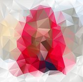 Vector Polygonal Background Triangular Design In Gemstone Col