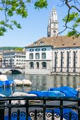 Zurich Urban View. Zurich, Switzerland, Europe.
