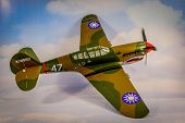 P-40 Warhawk RC Plane