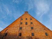 Large brick gable of Gdansk Little Mill
