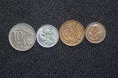 Australian decimal coins.