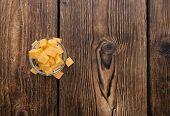Diced Cheddar (on Wood)