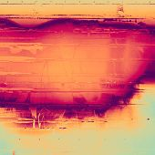 Grunge, vintage old background. With different color patterns: purple (violet); cyan; red (orange); yellow (beige)