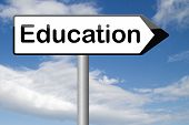 education learning and study to gather knowledge and wisdom building knowledge go to school college or university