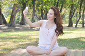Girl Is Selfie