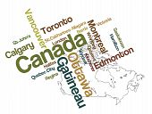 Canada Map And Cities