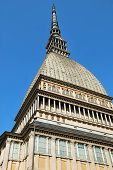 pic of turin  - Image of the Mole Antonelliana in Turin the highest monument of the city - JPG