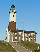 montauk light house in long island new york
