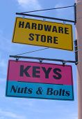 Hardware Sign