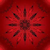 Fundo flor, elementos de Design, vetor