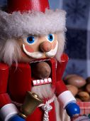 Santa Nutcracker And Pecan