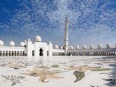 Sheikh Zayed Mosque And Veranda