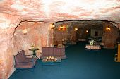 stock photo of bottomless  - lounge of an underground hotel in coober pedy - JPG