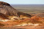 foto of bottomless  - very colourful breakaways near australian cooper pedy - JPG