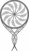 Espelho, ilustração vetorial