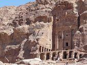 The Tresury From The Siq, Petra, Jordan