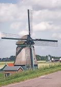 Old Dutch Windmill. poster