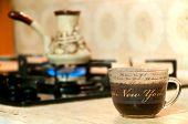 Coffee Preparation In A Turk