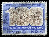 Census Centenary stamp