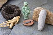 foto of snuff  - traditional asian health items - JPG