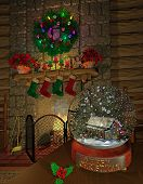 fireplace_snowglobe
