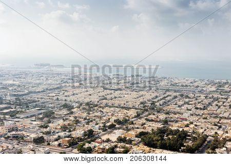 Jumeirah area and Jumeirah Bay