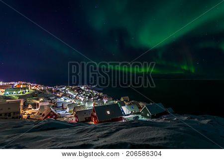 Green glowing Northern