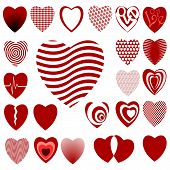 Lots of Heart Designs Set 02