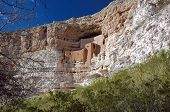 Montezuma'S Castle Adobe In Arizona