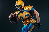 American football offensive player, NFL poster