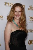 WEST HOLLYWOOD - FEB 25:  Rebecca Mader arriving at the OK! Magazine and BritWeek celebrate the Oscars party held at the London Hotel in West Hollywood, California on February 11, 2011.