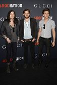 WEST HOLLYWOOD - FEB 12:  Nathan Followill, Caleb Followill, Jared Followill arriving at the Gucci a