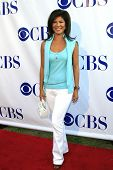 LOS ANGELES - JULY 19:  Julie Chen arriving at the CBS Summer Press Tour Stars Party 2007 at the Wadsworth Theater in Los Angeles, California on July 19, 2007