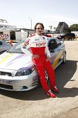 LOS ANGELES - APR 05:  Kim Coates attending the 35th annual Toyota Pro/Celebrity Race Press Practice