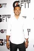 LOS ANGELES - APR 12:  Jesse Williams at the 'Gatorade G Series Fit Launch Event' at the SLS Hotel in Los Angeles, California on April 12, 2011.