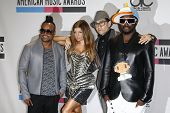 LOS ANGELES, CA  - NOV 21:  Stacy Ferguson aka Fergie with the Black Eyed Peas at the 2010 American
