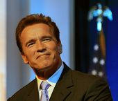 SACRAMENTO - JAN 5: Arnold Schwarzenegger swearing in ceremony at the Memorial Auditorium, Sacrament