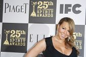 LOS ANGELES - MAY 5: Mariah Carey at the 25th Independent Spirit Awards held at the Nokia Theater in