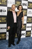 LOS ANGELES - MAY 5: Peter Sarsgaard, wife Maggie Gyllenhaal at the 25th Independent Spirit Awards h